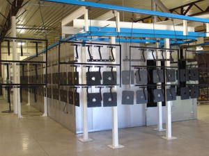 Sherwin Williams Automated Powder Coat Line