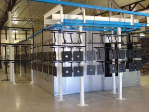 Sherwin Williams Automated Powder Coat Line